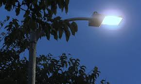 New LED street lights are scheduled to finish installation by March 2016